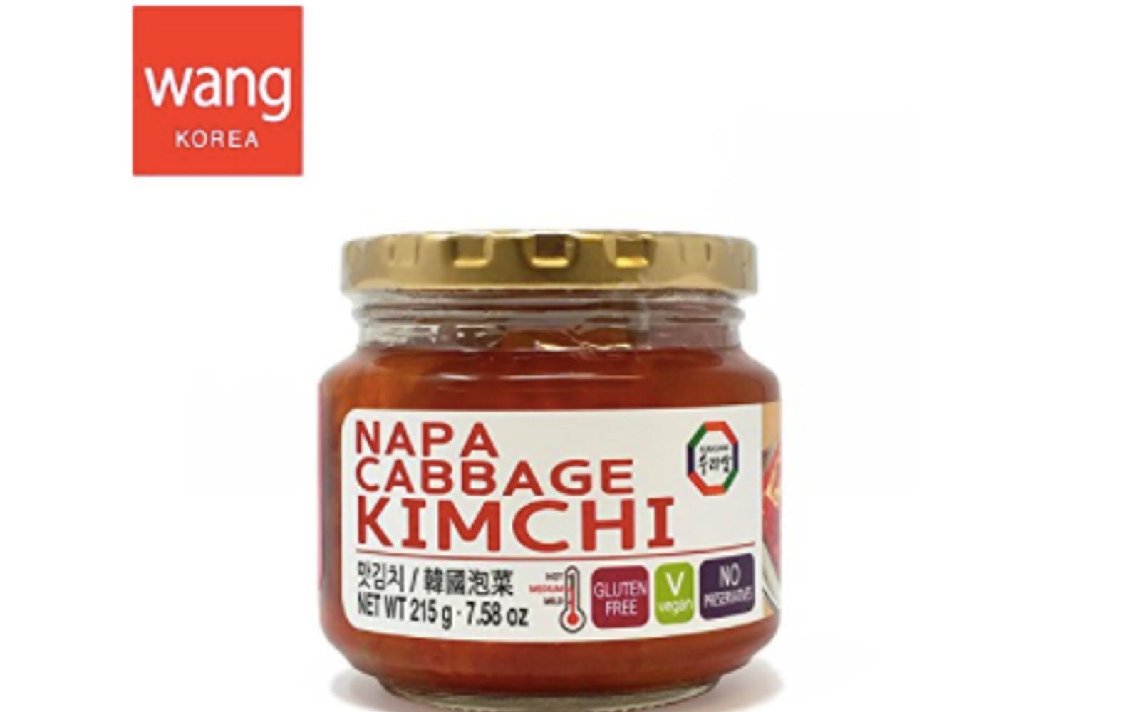 Jarred Vegan Korean Kimchi