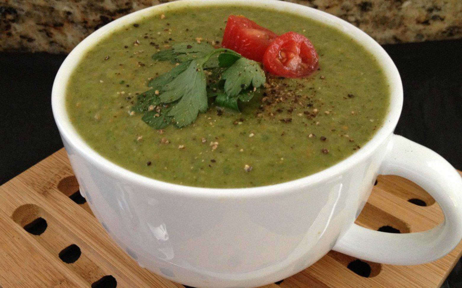 Ayurvedic Spinach-Mung Detox Soup