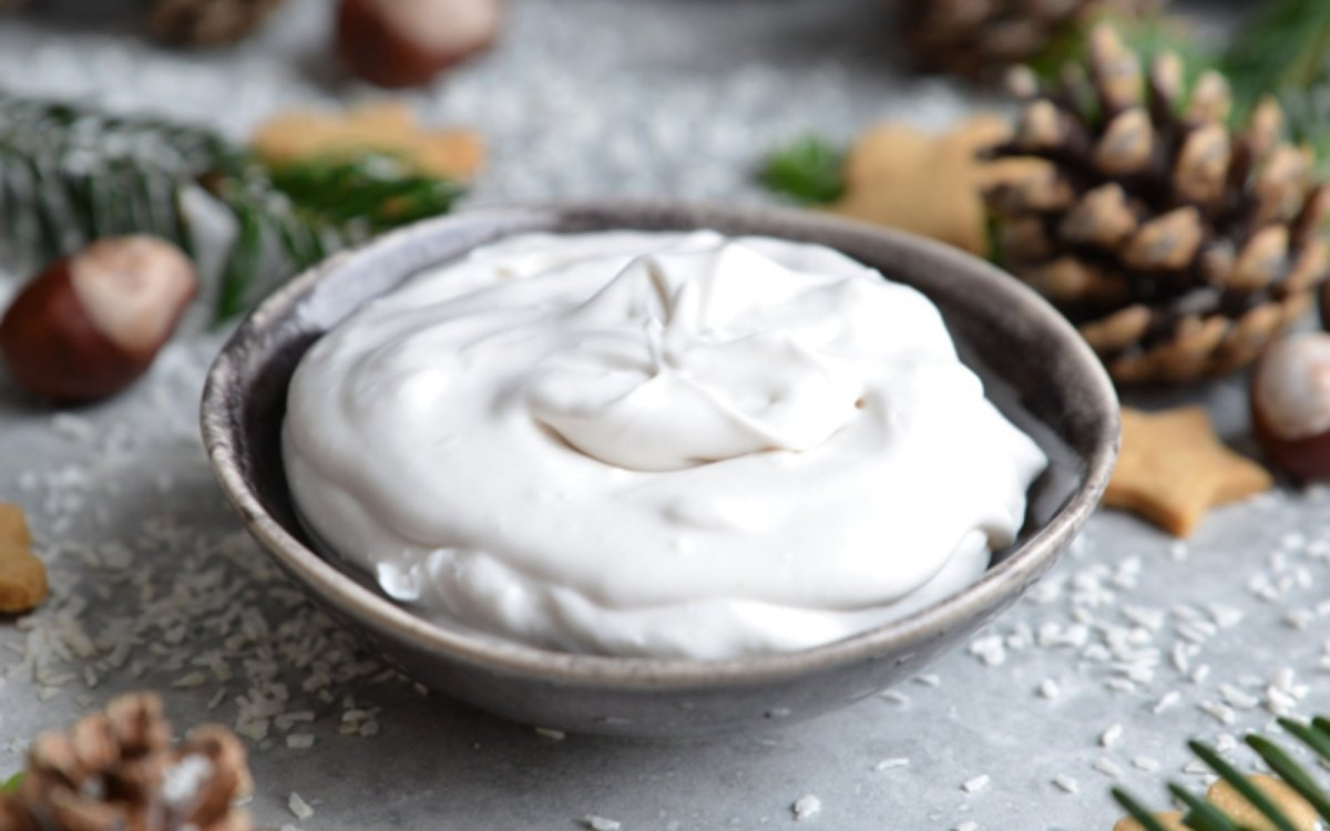 vegan coconut brandy cream