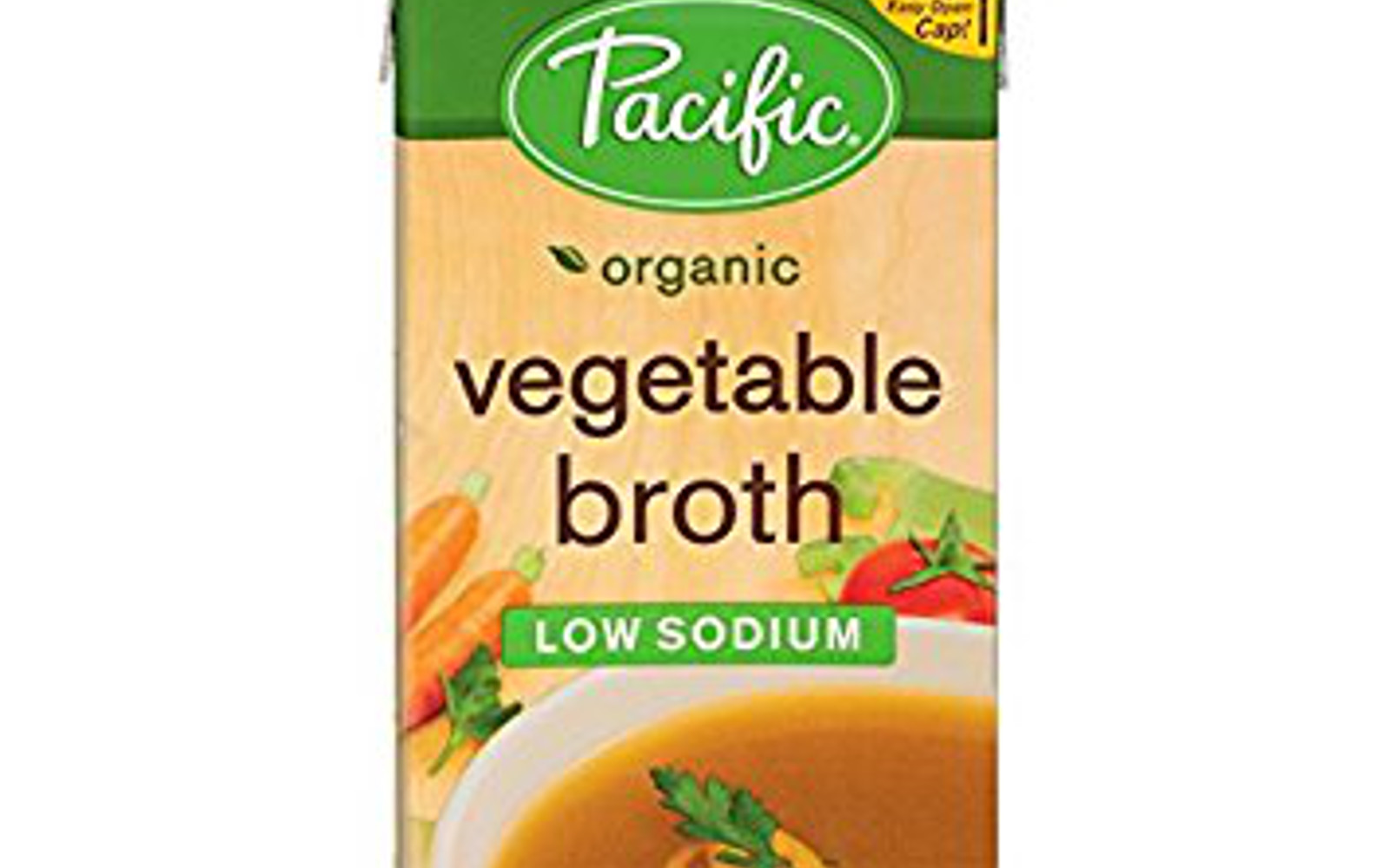 Healthy Amazon Soup Finds for the Vegan College Student | Vegan Pacific Foods Organic Low-Sodium Vegetable Broth, 32-Ounces