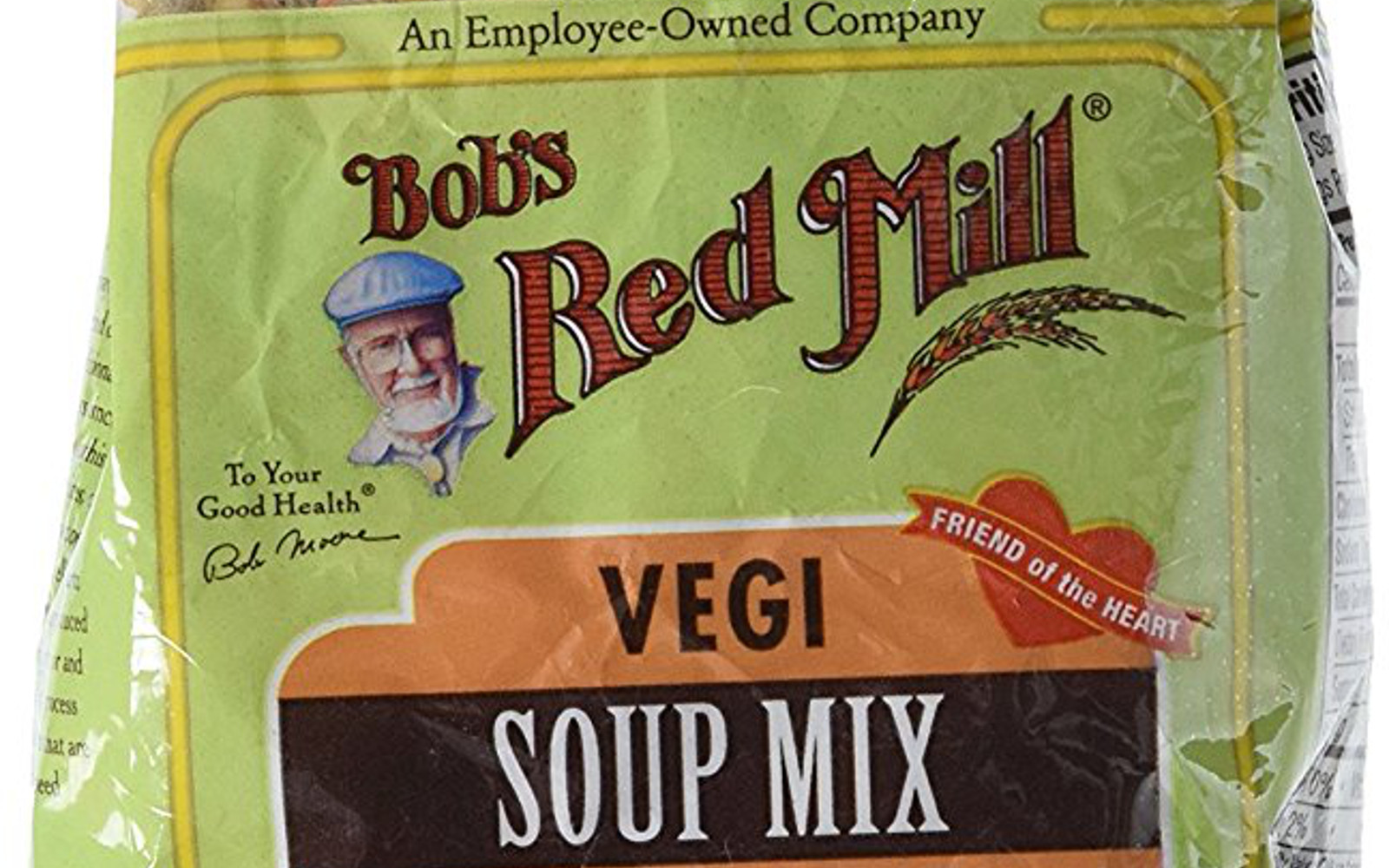Healthy Amazon Soup Finds for the Vegan College Student | Vegan Bob's Red Mill, Vegi Soup Mix, 28 oz
