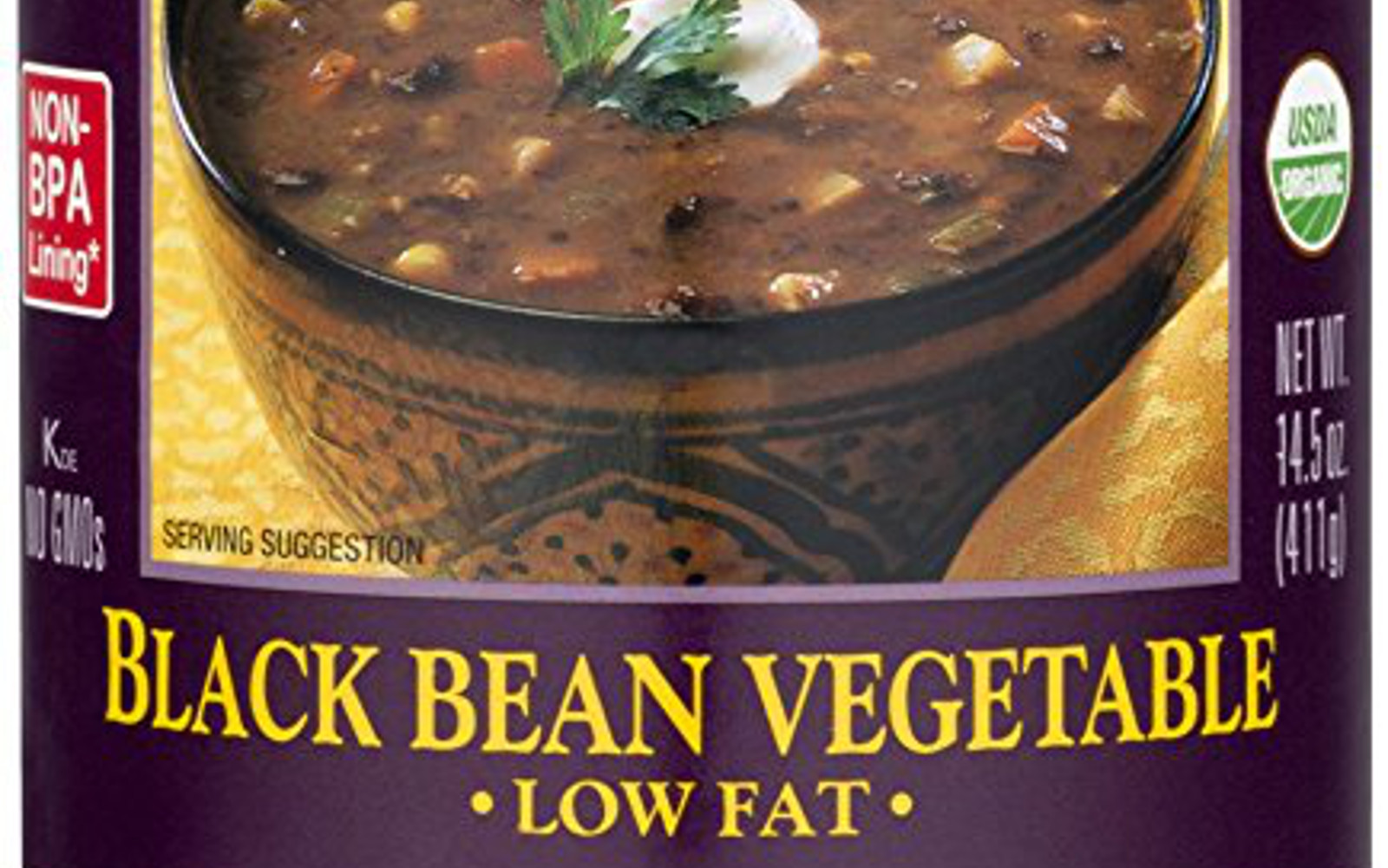 Healthy Amazon Soup Finds for the Vegan College Student | Vegan Amy's Organic Soups, Black Bean Vegetable, 14.5 Ounce