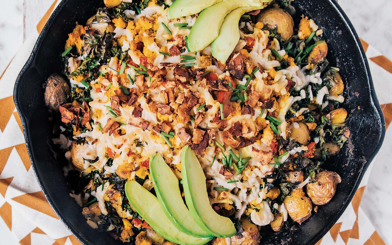 Vegan Breakfast Skillet