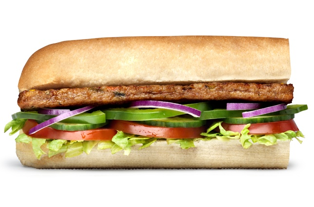 Subway Vegan Spicy Steak Sandwich