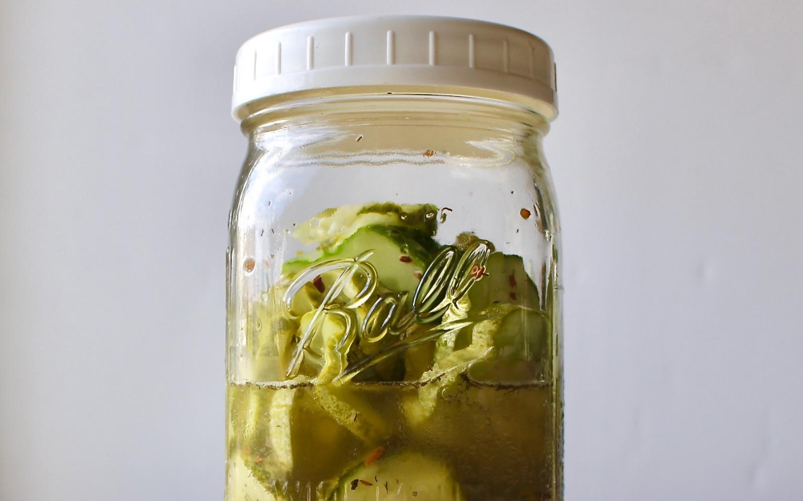 Crispy Flavorful Pickles