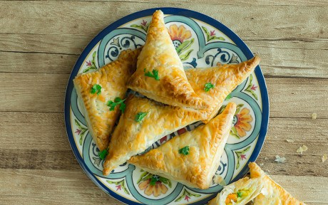 Vegan Oven-Baked Vegetable Samosas