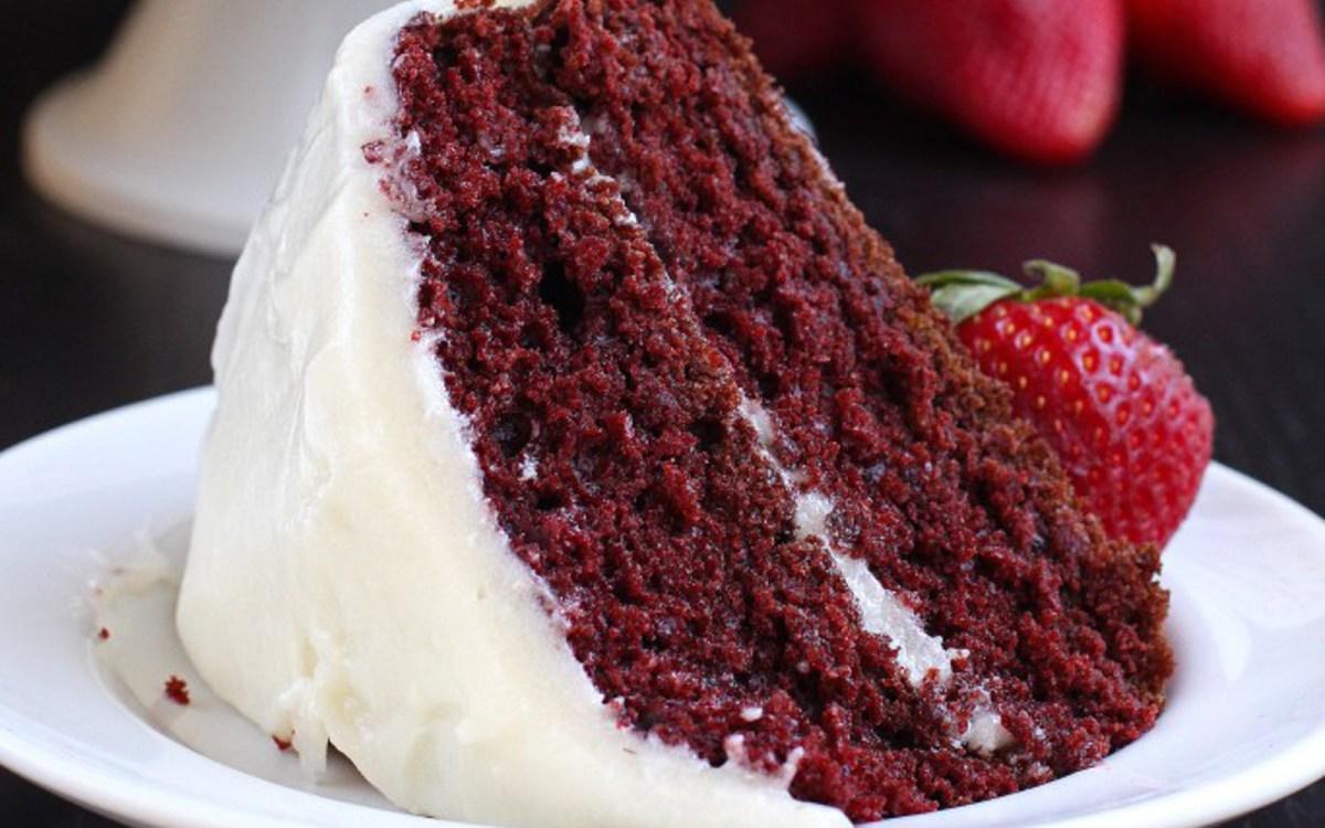 Vegan Classic Red Velvet Cake