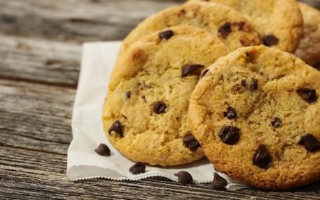 Gluten-free vegan cookie chocolate chip cookie