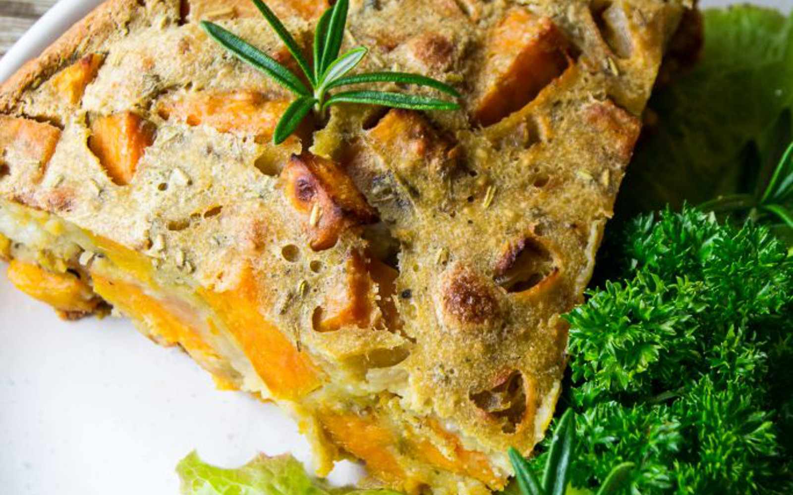 Vegan Sweet Potato Frittata