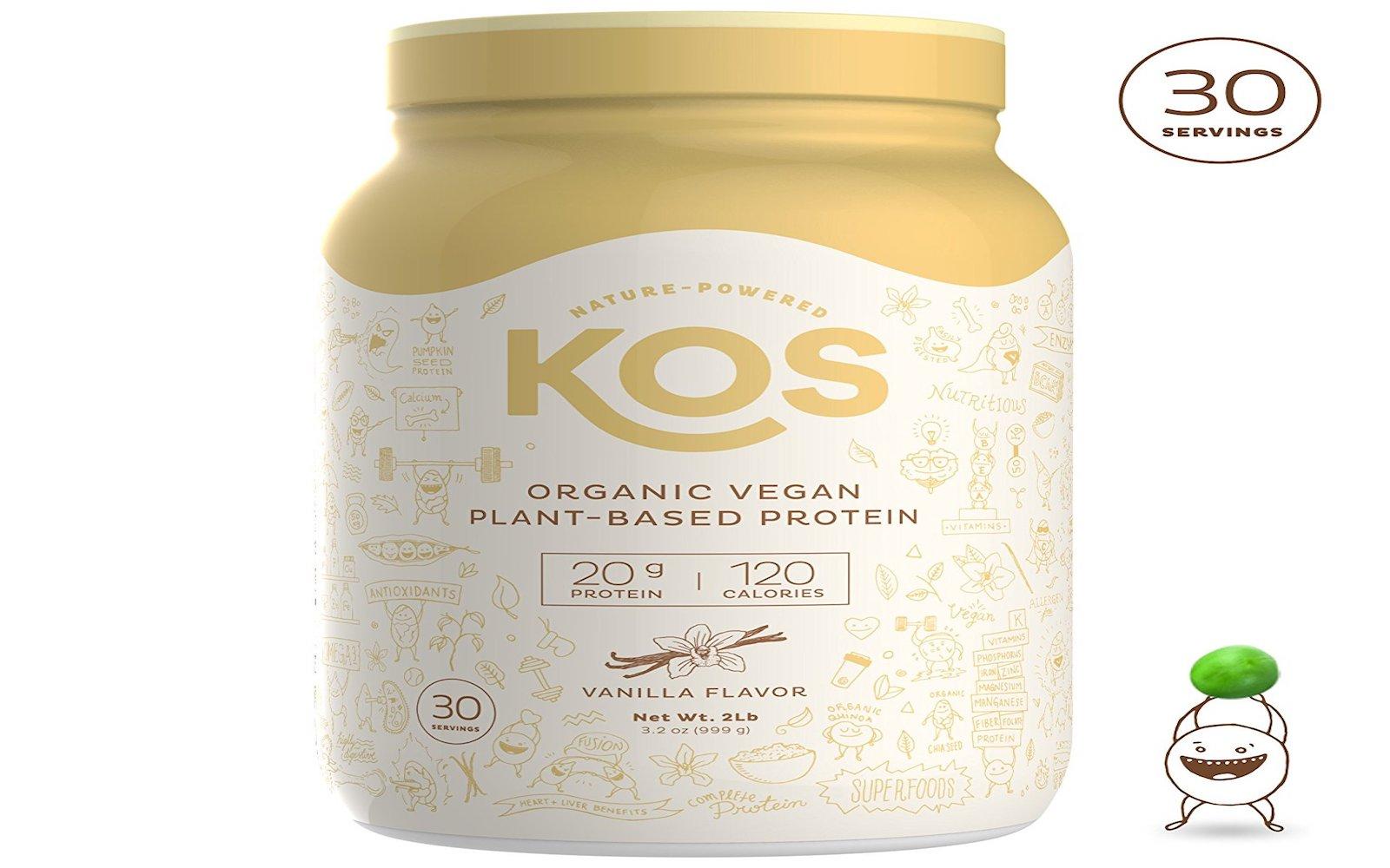kos organic vegan protein powder