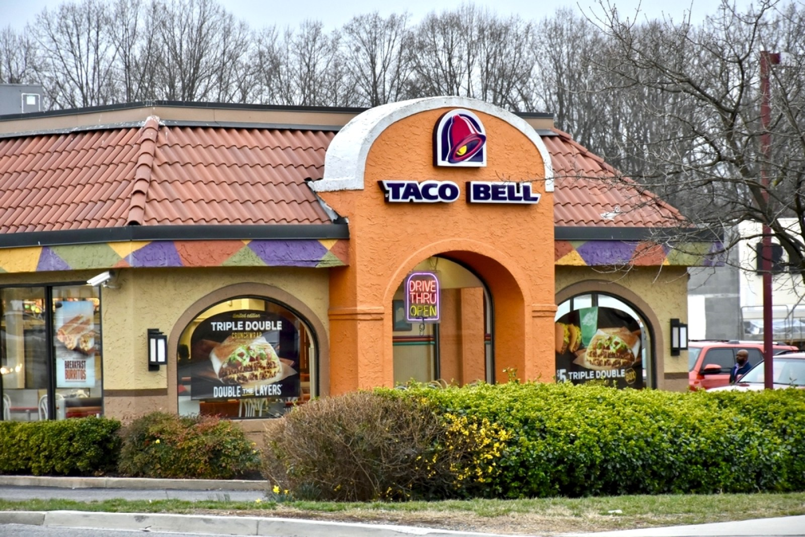 taco bell vegan