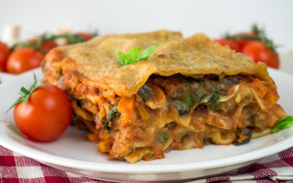 Vegan Pulled Soya Lasagna