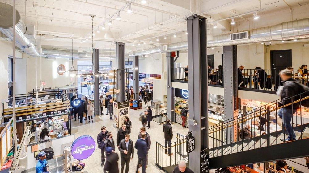 urbanspace midtown food hall vegan options