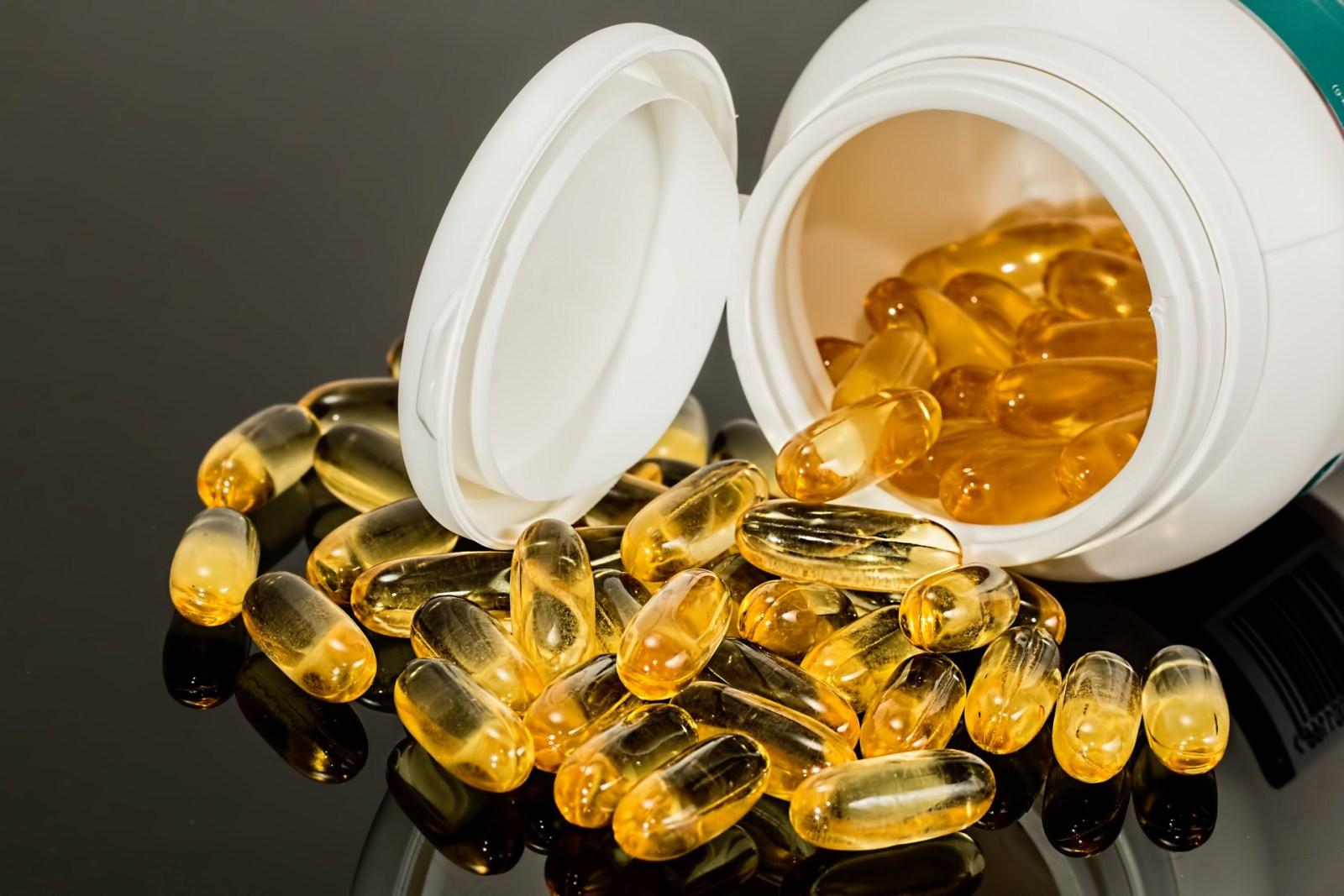 vitamins and vegan pills