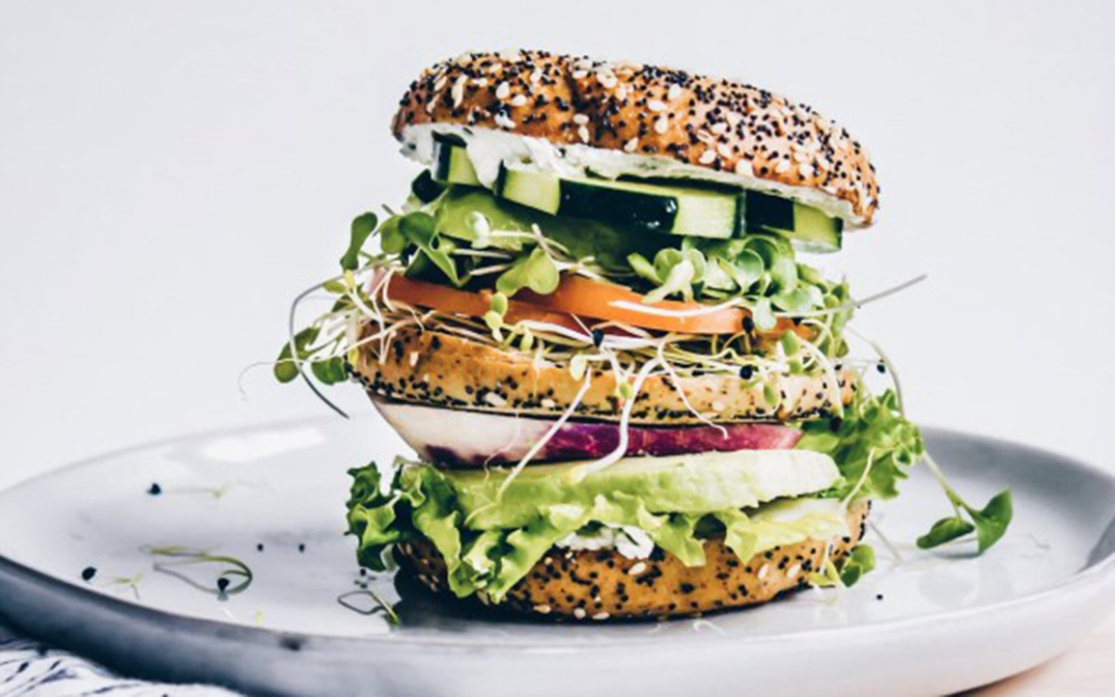 vegan ultimate veggie sandwich