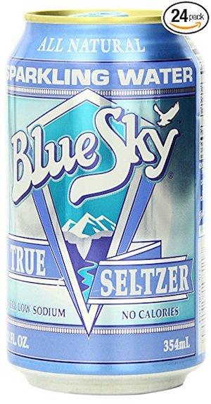 blue sky vegan seltzer