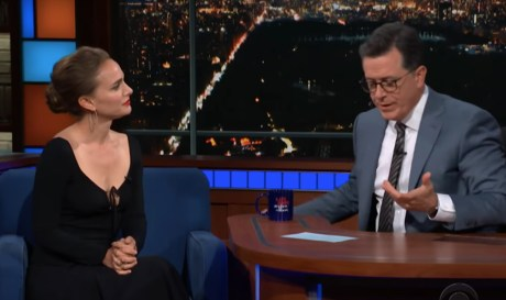 YES! Natalie Portman Discusses How We Can Reduce Our Environmental Impact With a Vegan Diet on Colbert