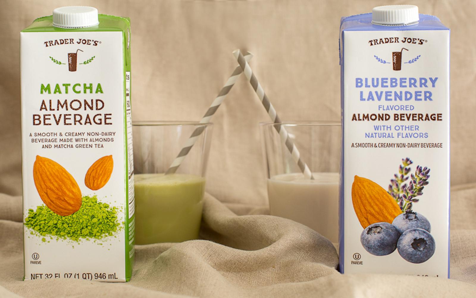 almond milk drinks