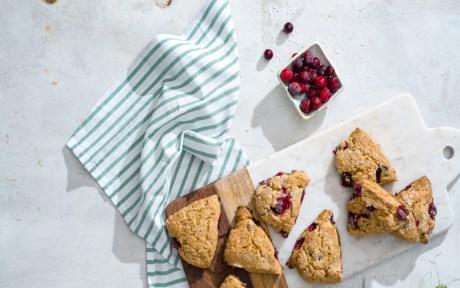vegan scones and biscuits