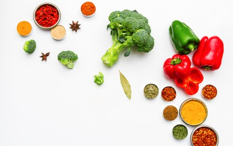 vegetable and fruit powders