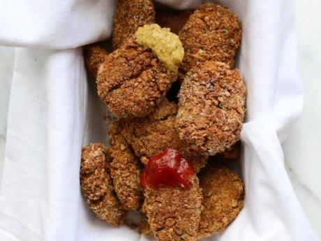 Red Lentil Veggie Nuggets
