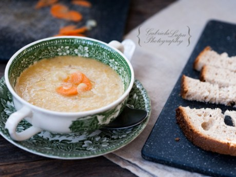 Sweet Potato with Ginger Soup