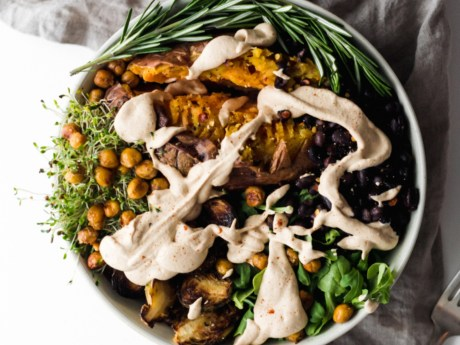 Chipotle Green Protein Bow