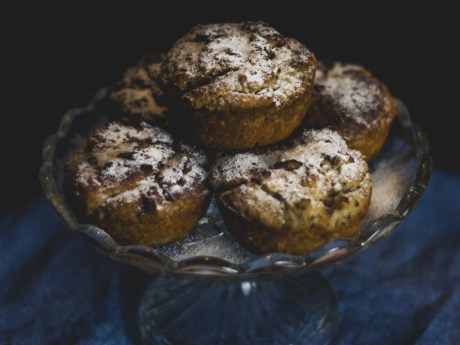 White Bean Cinnamon Muffins