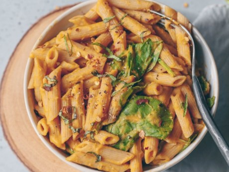 Butternut Squash Roasted Tomato Pasta
