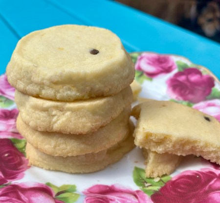 passionfruit cookies, biscuits