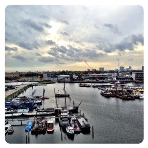 Rem Eiland Amsterdam view