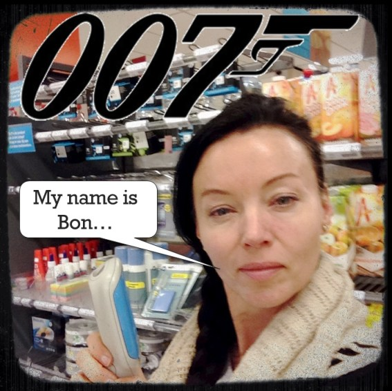 James Bond Albert Heijn