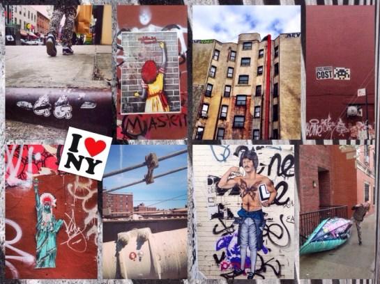 City Trip streetart newyork