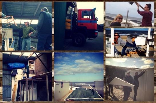 strandhuisje opbouwen