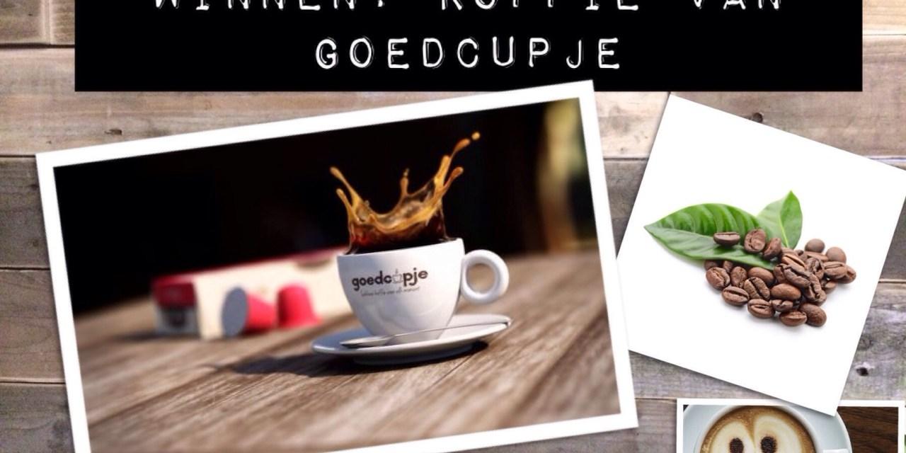 Ook lekker: de koffie van Goedcupje
