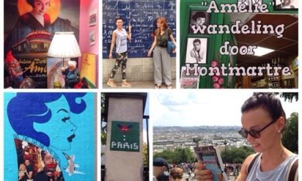 Amélie wandeling door Montmartre in Parijs