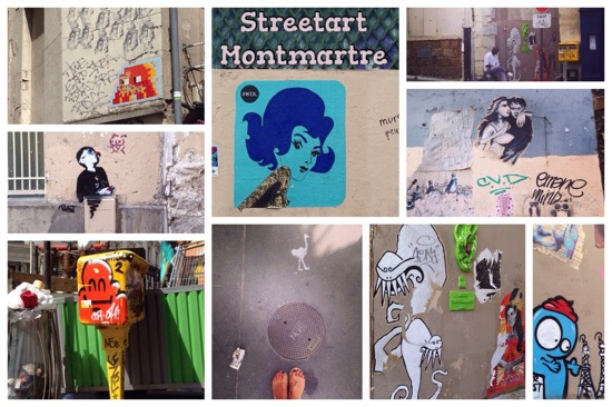 Streetart Montmartre