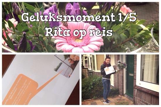 Geluksmoment 1/5: Buurvrouw Rita gaat op reis