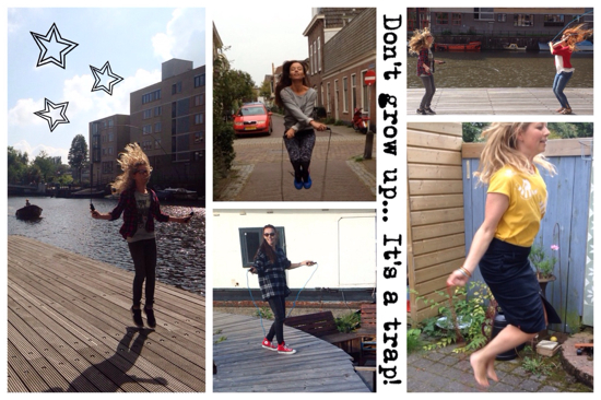 springtouwen collage