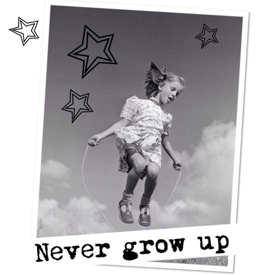 touwtje springen Never Grow Up