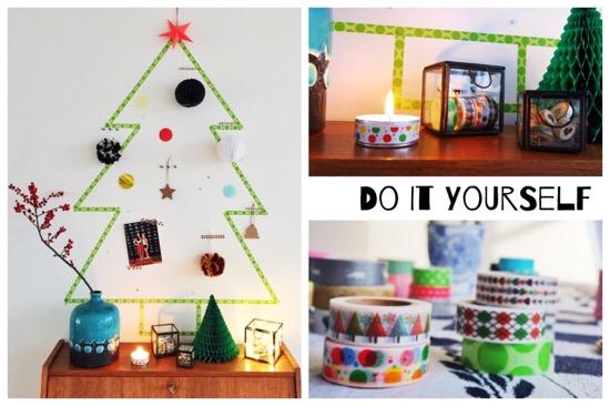 DIY: kerstboom knutselen