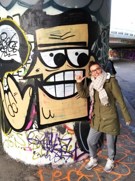 Streetart in Praag