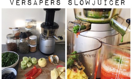 Review Versapers Slowjuicer 3g