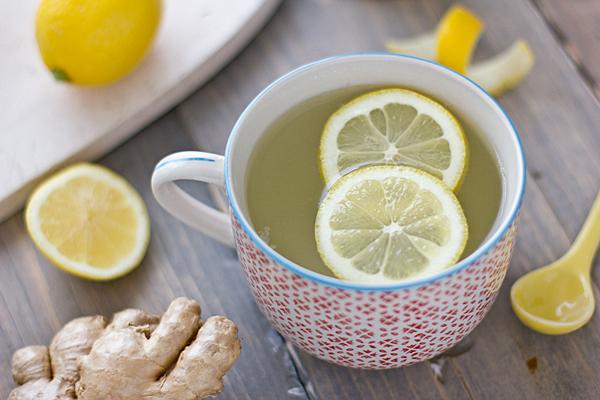 gember citroen detox drankje
