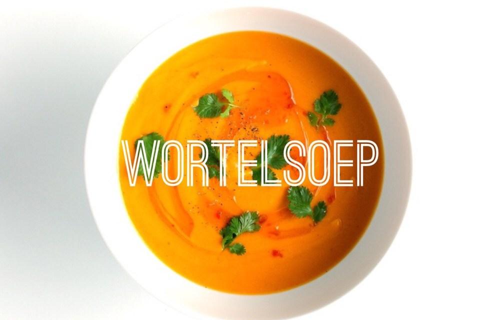 Supersnelle wortelsoep (met broccoli)
