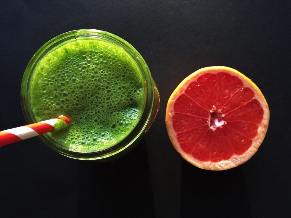 smoothie met grapefruit