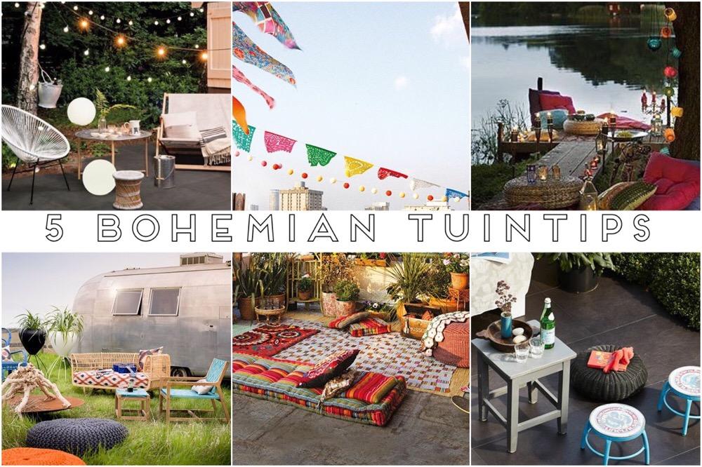 5 x Bohemian tuin inspiratie