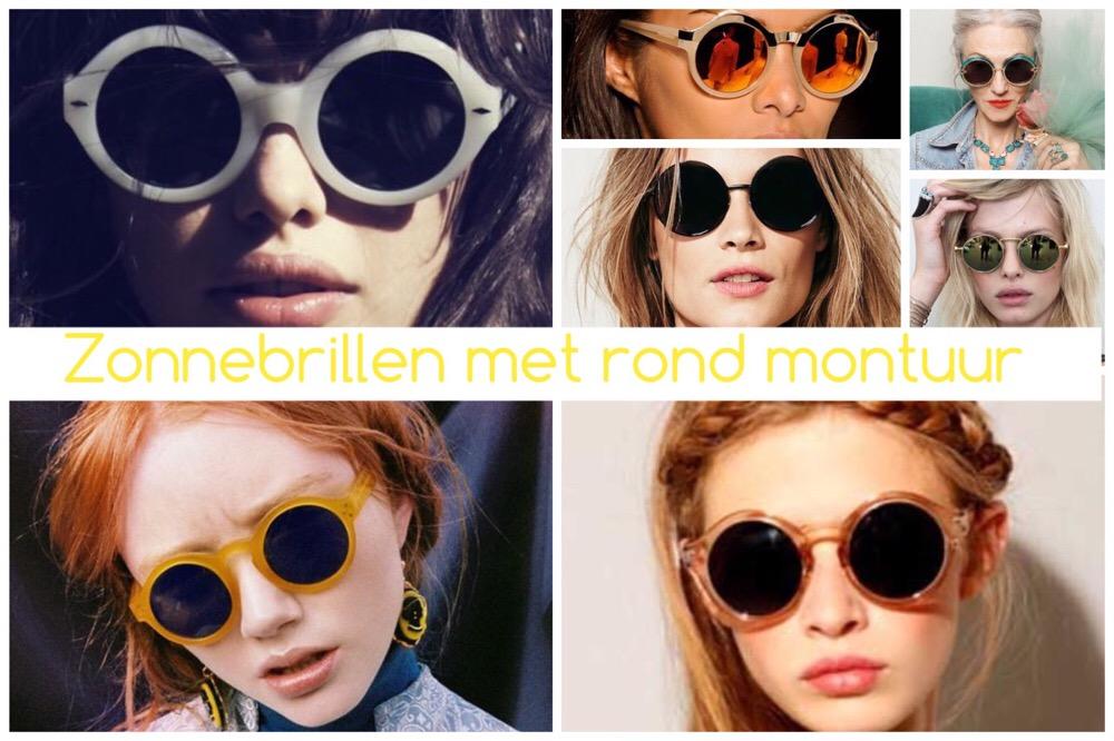 zonnebrillen trends 2015 - ronde glazen