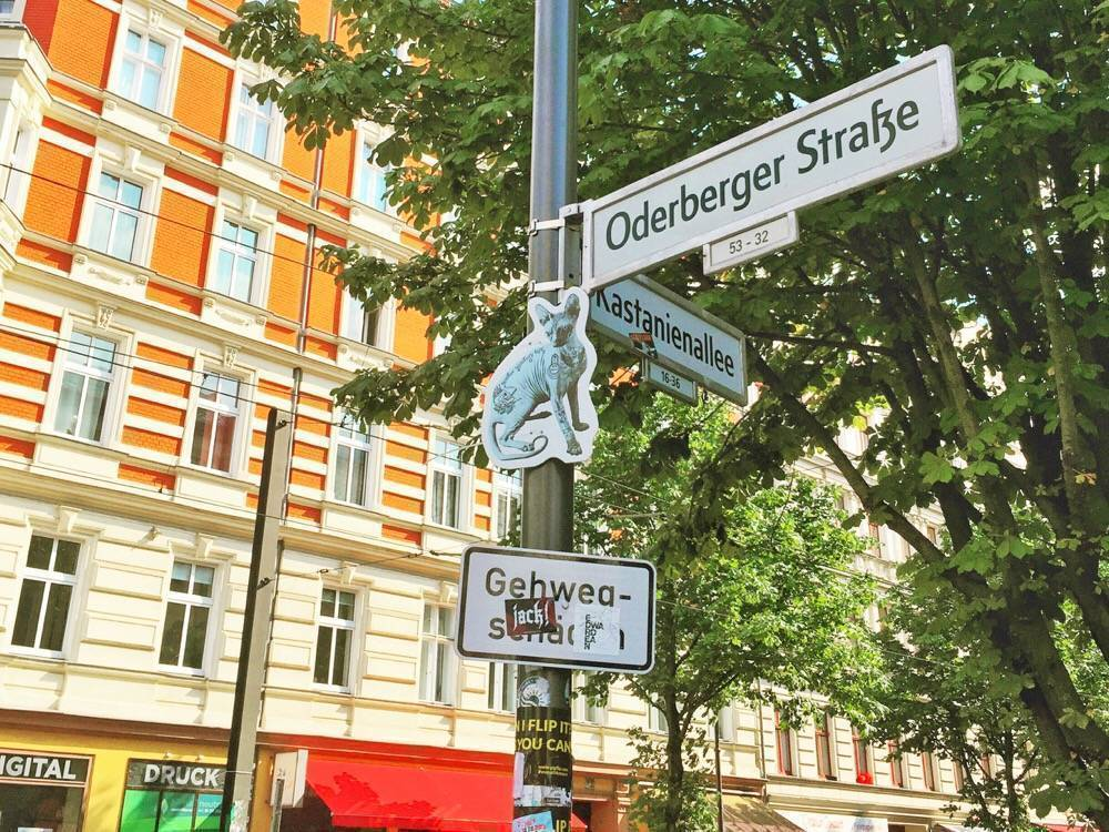Oderberger Straße