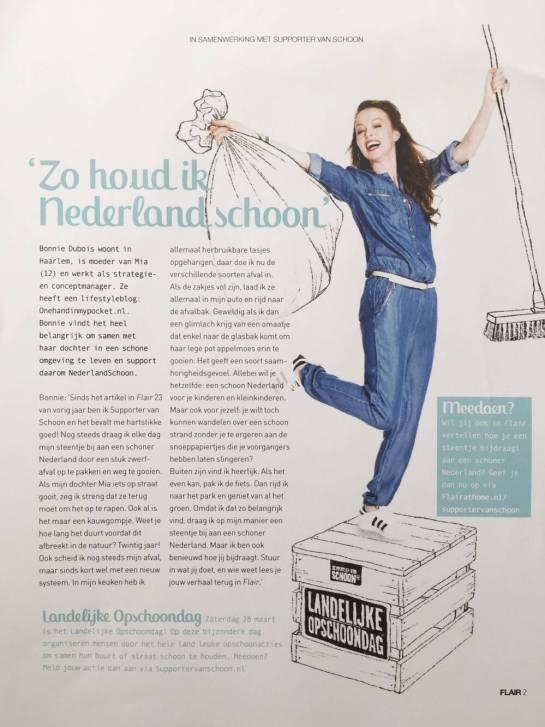 Nederland Schoon campagne Flair